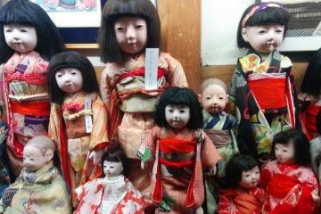 Doll Warehouse in Shiroishi
