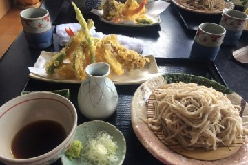 Hanaki: Soba in Nihonmatsu [CLOSED]