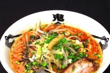 Super Spicy Ramen in Tokyo