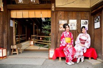 รีวิวเช่าชุดกิโมโนที่ร้าน Yumeyakata เกียวโต