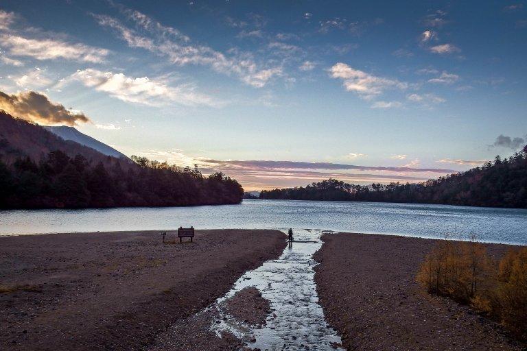 Early Morning on Lake Yunoko