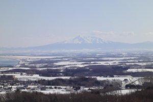 Snow capped mountains of Northern Hokkaido