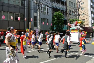 Asakusabashi Chestnut Festival