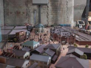 mAAch ecute神田萬世橋-1912年萬世橋車站的模型