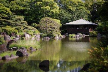 Le Parc de Tennôji à Osaka