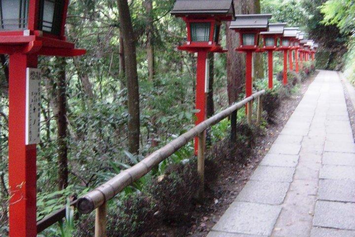 The Kurama-Kibune Mountain Trail