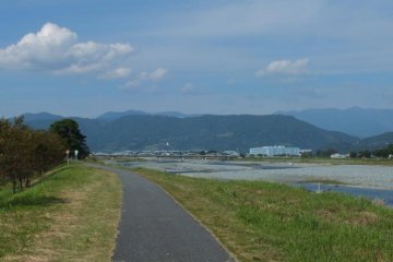 Scenic Cycling Road in Odawara