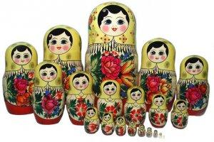 The most popular Matryoshka of Semyonov