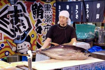 ตลาดคุโระชิโอะแห่งวะกะยะมะ