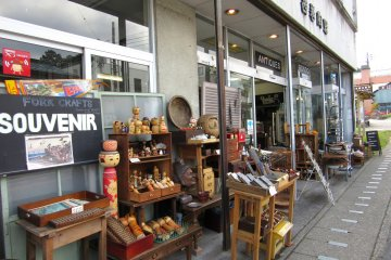 Rondo Antique Shop in Nikko