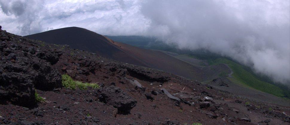 Trilho Fujinomiya no Monte Fuji