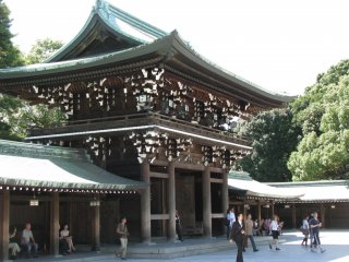 Meiji Jingu, Harajuku, Tokyo