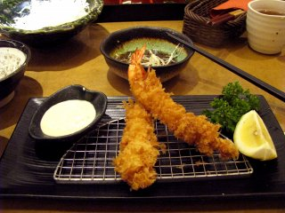 My favorite tempura shrimps!