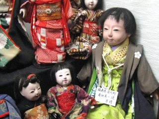 At the Doll museum of Shiroishi City