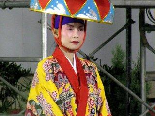 Beautiful festival costume