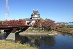 Sunomata Castle, supposedly built overnight!