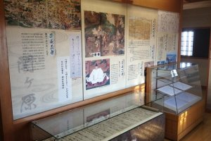 Displays show the rise of Toyotomi Hideyoshi