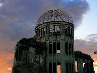 Before th atomic bomb, the Dome was the Hiroshima Prefectural Commercial Exhibition Hall
