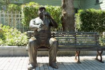 Jazz Statues in Kobe Kitano