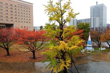 Autumn in Yokohama's Minato Mirai