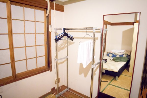 A very wide and spacious room for 3 people