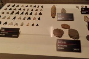 Stone arrow heads