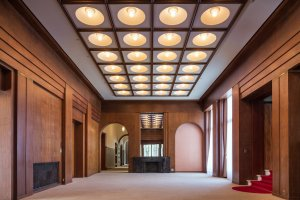 Suasana di dalam Tokyo Metropolitan Teien Art Museum