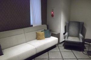The little lounge near reception