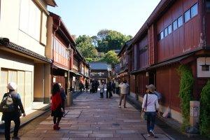ถนนโรงน้ำชาในสมัยยุคเอโดะ