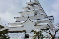 Keajaiban Istana Tsuruga-jo