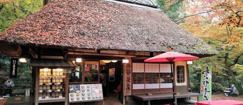 ร้าน Mizutani-chaya ในนารา