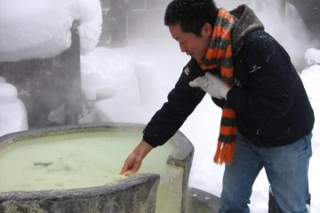 Zao Onsen in Winter