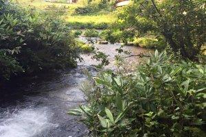 Nanataki Falls in Northern Akita Prefecture
