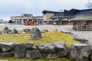 Hiraodai Countryside Park provides family fun with restaurants, hands-on learning, and souvenirs