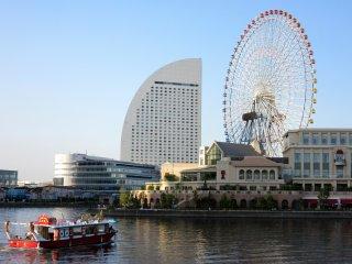 """Classic"" view of Yokohama"