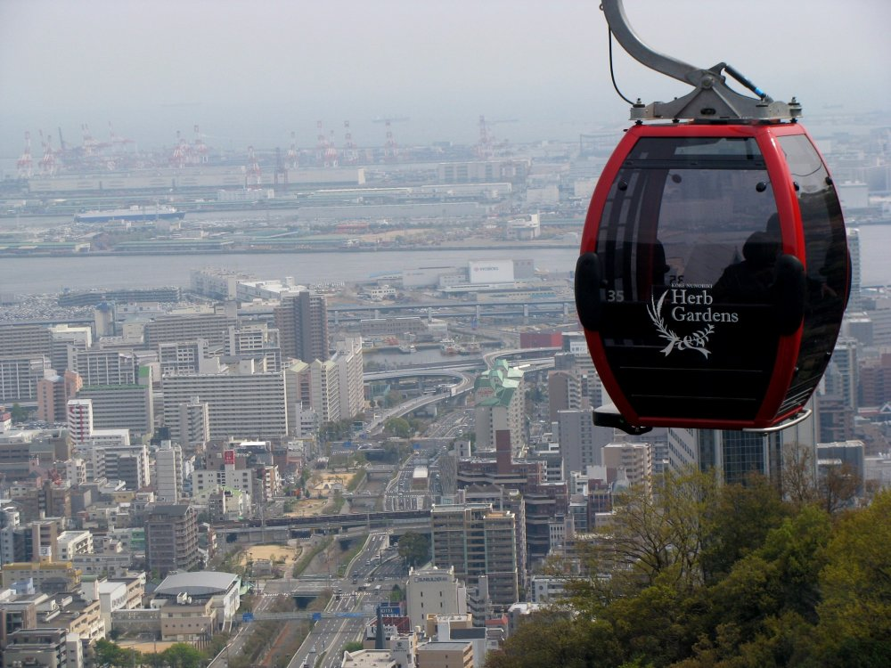 The ropeway cabin