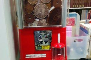 The capsule machine is addictive