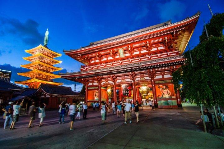 Asakusa's Sensoji Temple
