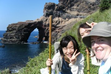 Hiking in the Oki Islands