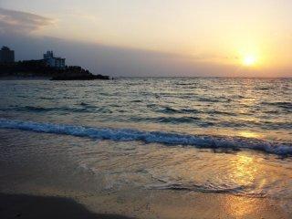 Hoàng hôn trên biển Shirahama