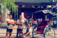 The Around-the-World Rickshaw