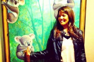 Hanging out with my favorite bears - Koalas!