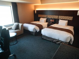 Fuji View Comfort Twin room