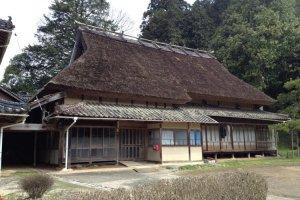 The Hirao house, Musashi's sister's house