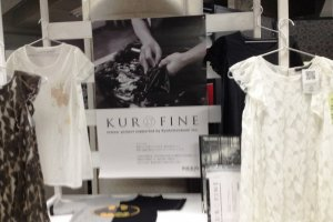 Kurofine mail order service with QR code technology to see what your clothes will look like a