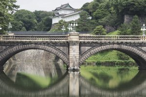 Nijubashi Bridge, entry to the inner grounds of the Imperial Palace