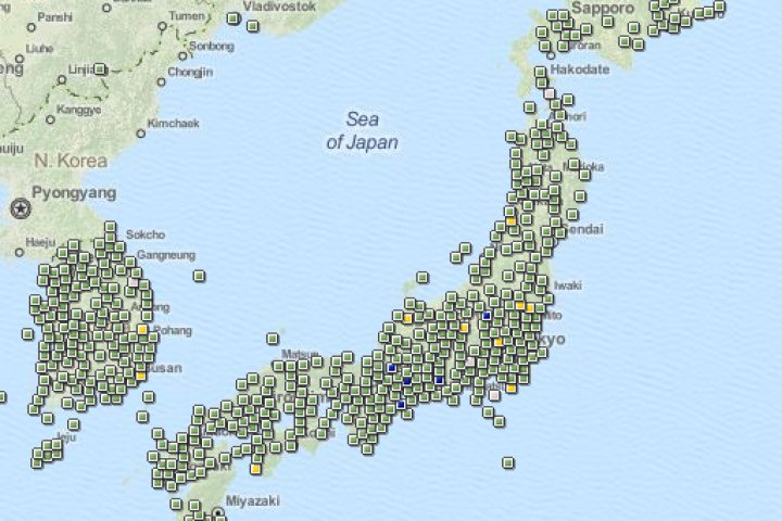 Geocaching in Japan