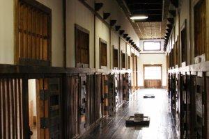 Prison hallways seem to never end
