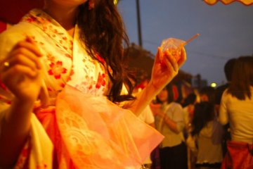 Tōkasan Yukata Festival, Hiroshima