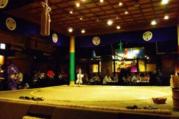 Izakaya and Sumo's Song in Ryogoku